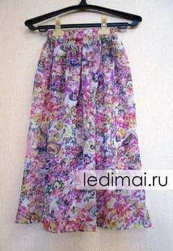 7e28f3bda4c5d48 Длинная юбка на резинке для девочки. А эту юбку для девочки своими руками  ...