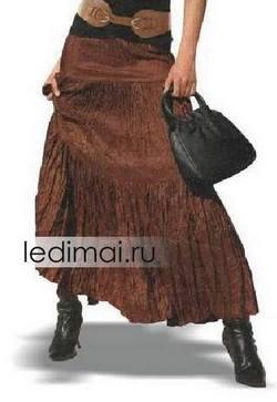 Сшить юбку длинную для девочек
